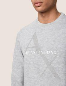 ARMANI EXCHANGE Fleece-Top Herren b