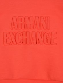 ARMANI EXCHANGE GIRLS DEBOSSED LOGO SWEATSHIRT TOP Pullover Woman d