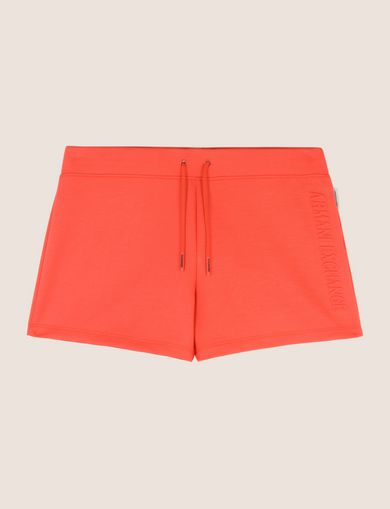 SHORTS IN FELPA CON LOGO