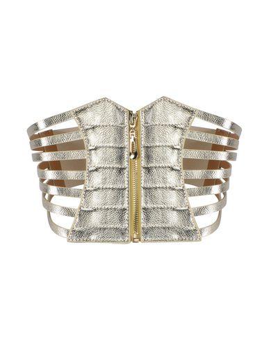 JOLIE by EDWARD SPIERS Damen Gürtel Gold Größe one size 70% Polyurethan 25% Gewebefasern 5% Metall