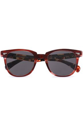 OLIVER PEOPLES D-frame acetate sunglasses