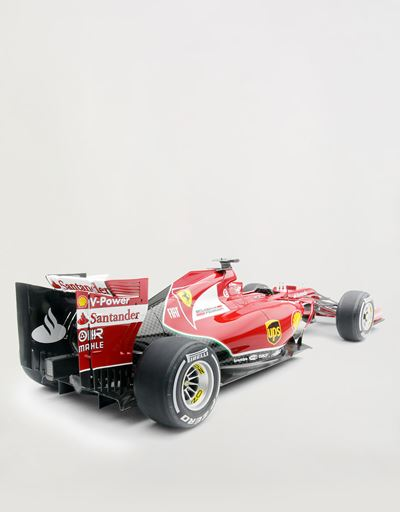 Ferrari F14 T Alonso model in 1:8 scale