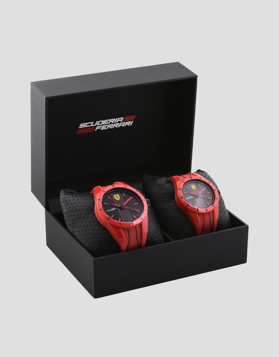 Scuderia Ferrari Online Store - Set of 2 RedRev watches -