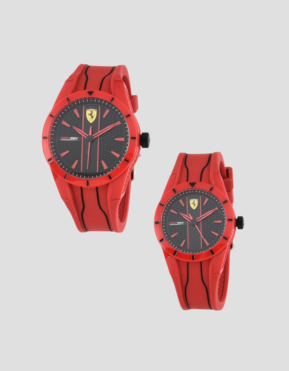 watch red rev scuderia kids ferrari quartz new italy black item t specifics