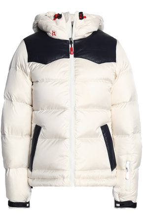 PERFECT MOMENT Quilted shell coat