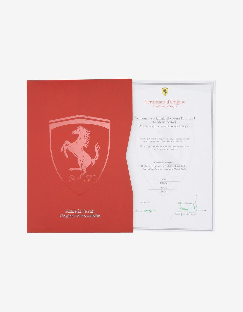 Scuderia Ferrari Online Store - Ferrari Barrichello 2004 rear spoiler - Memorabilia F1