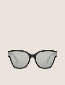ARMANI EXCHANGE MIRROR MATTE MOD CAT-EYE SUNGLASSES Sunglass Woman r