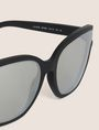 ARMANI EXCHANGE MIRROR MATTE MOD CAT-EYE SUNGLASSES Sunglass Woman e