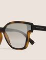 ARMANI EXCHANGE MOD TORTOISE CAT-EYE SUNGLASSES Sunglass Woman d