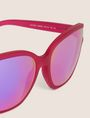 ARMANI EXCHANGE PURPLE MIRROR MOD CAT-EYE SUNGLASSES Sunglass Woman e
