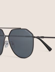 ARMANI EXCHANGE MIRRORED GEO AVIATOR SUNGLASSES Sunglass Man d