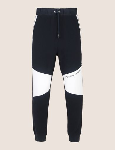 LOGO KNEE-PATCH JOGGER