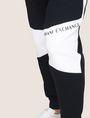 ARMANI EXCHANGE LOGO KNEE-PATCH JOGGER Fleece Pant Man b