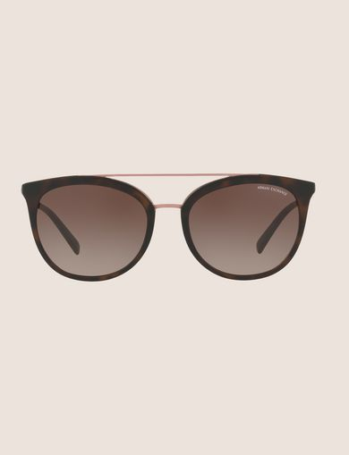 MATTE CAT-EYE AVIATOR SUNGLASSES