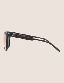 ARMANI EXCHANGE MIRRORED LENS WINGED SUNGLASSES Sunglass Woman d