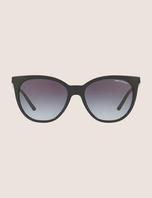 ARMANI EXCHANGE BLACK WINGED SUNGLASSES Sunglass Woman f