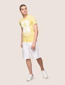 ARMANI EXCHANGE パームツリープリント Tシャツ ロゴTシャツ メンズ d
