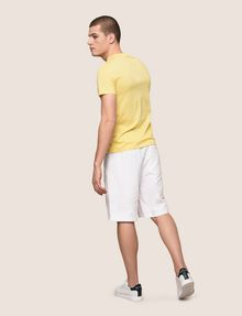 ARMANI EXCHANGE パームツリープリント Tシャツ ロゴTシャツ メンズ e