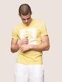 ARMANI EXCHANGE パームツリープリント Tシャツ ロゴTシャツ メンズ a