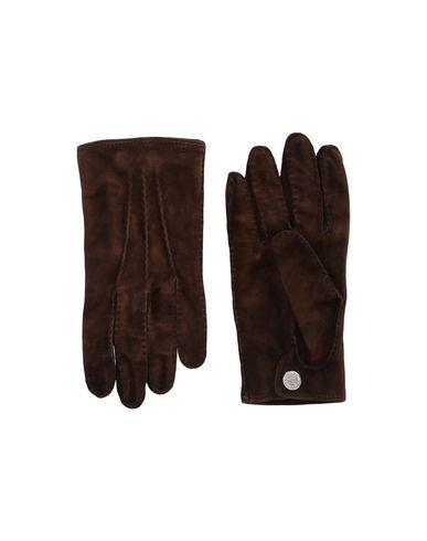 DSQUARED2 Herren Handschuhe Dunkelbraun Größe 20 100% Leder