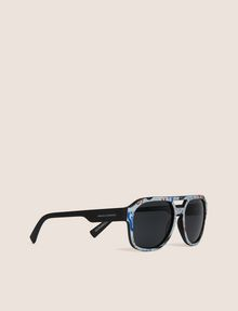 ARMANI EXCHANGE STREET ART SERIES LESJEANCLODE AVIATOR Sunglass Man f