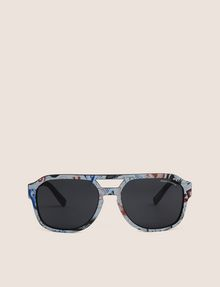 ARMANI EXCHANGE STREET ART SERIES LESJEANCLODE AVIATOR Sunglass Man r