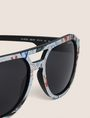 ARMANI EXCHANGE STREET ART SERIES LESJEANCLODE AVIATOR Sunglass Man e