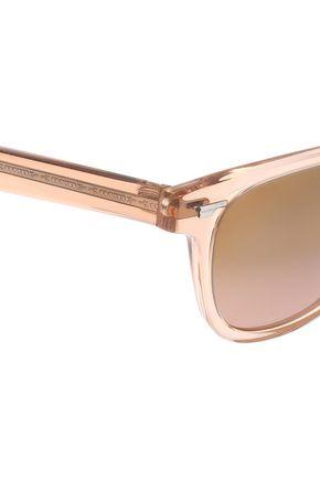 OLIVER PEOPLES D-frame acetate sunglasses