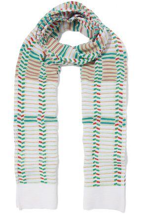 M MISSONI Crochet-knit scarf