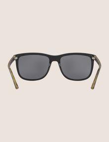 ARMANI EXCHANGE BLACK BICOLOR CLASSIC SUNGLASSES Sunglass Man r