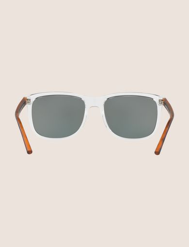 TRANSPARENT CRYSTAL CLASSIC SUNGLASSES