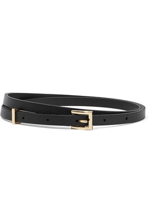 SANDRO Paris Cara leather belt