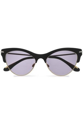 ROLAND MOURET Cat-eye acetate sunglasses