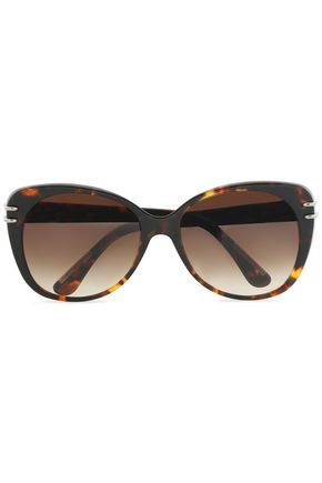 d-frame-tortoiseshell-acetate-and-silver-tone-sunglasses by roland-mouret