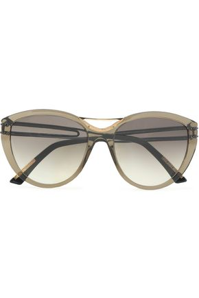 ROLAND MOURET D-frame acetate sunglasses