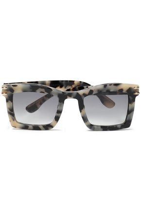Roland Mouret Woman Cat-eye Tortoiseshell Acetate And Silver-tone Sunglasses Brown Size Roland Mouret bRLEkOC