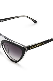 cat-eye sunglasses - Black Alberta Ferretti UC6ipop