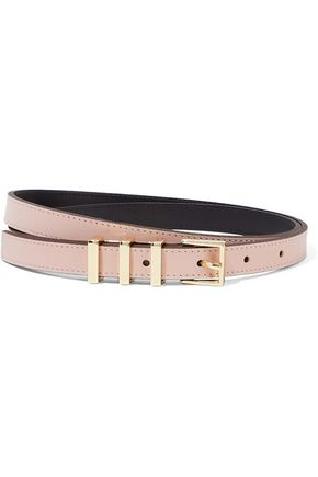 SANDRO Ariane leather belt