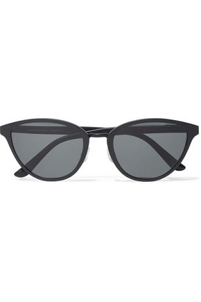 OLIVER PEOPLES Annaliesse cat-eye embossed metal sunglasses