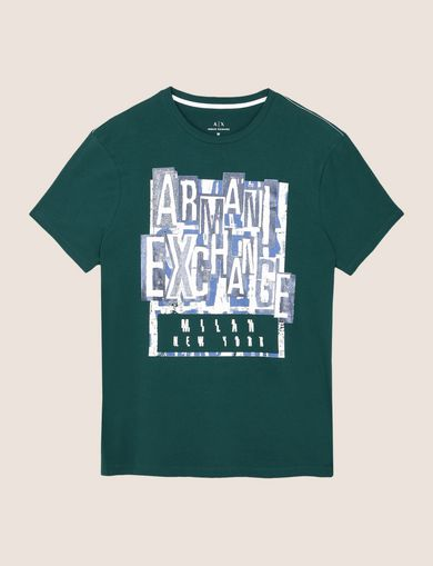 COLLAGE POSTER LOGO TEE