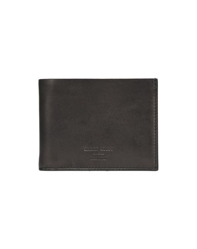 GIORGIO ARMANI メンズ 財布 ブラック 革