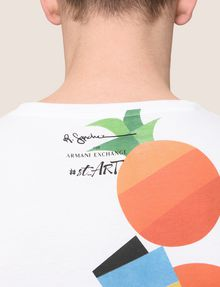 ARMANI EXCHANGE STREET ART SERIES RUBEN SANCHEZ CREWNECK TEE Non-Logo Tee Man b
