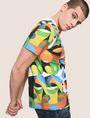 ARMANI EXCHANGE STREET ART SERIES RUBEN SANCHEZ CREWNECK TEE Non-Logo Tee Man a