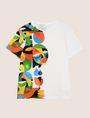 ARMANI EXCHANGE STREET ART SERIES RUBEN SANCHEZ CREWNECK TEE Non-Logo Tee Man r
