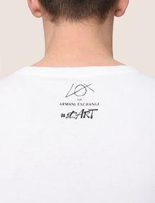 ARMANI EXCHANGE STREET ART SERIES LOX CREWNECK TEE Non-logo Tee Man b