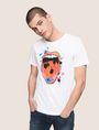 ARMANI EXCHANGE STREET ART SERIES LOX CREWNECK TEE Non-logo Tee Man f
