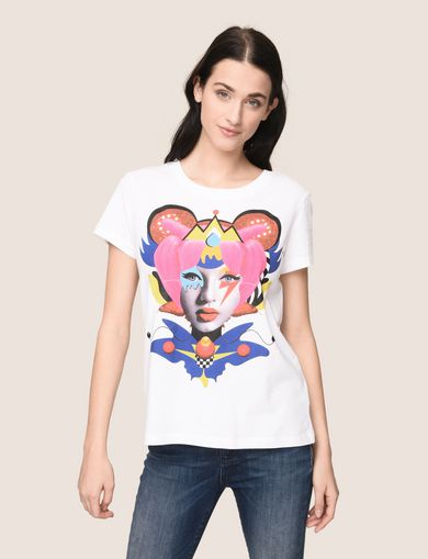 WOMENS STREET ART SERIES VALENTINA BROSTEAN TEE