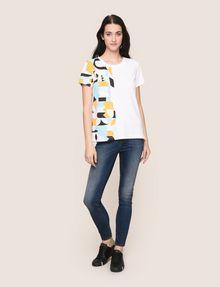 ARMANI EXCHANGE Camiseta sin logotipo Mujer d