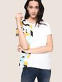 ARMANI EXCHANGE WOMENS STREET ART SERIES RUBEN SANCHEZ TEE Non-Logo Tee Woman a