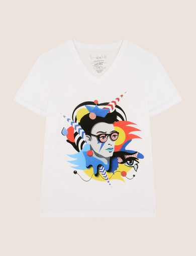 STREET ART SERIES VALENTINA BROSTEAN V-NECK TEE